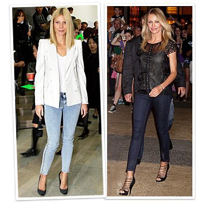 Bileğinizi açıkta bırakın İnanın ayak bileklerinizi göstererek bile seksi olabilirsiniz. Yapmanız gereken tek şey stiletto'larınızla, ayak bileklerinizin hemen üzerinde biten skinny pantolonunuzu giymek. Bakın Cameron Diaz'da  Gwyneth Paltrow'da ne kadar seksi görünüyor.