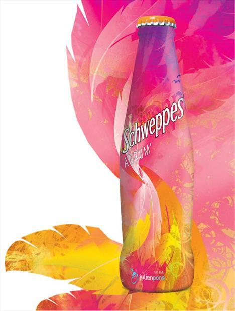 Schweppes: 134.75 kalori (250 ml.)   Mandalina suyu konsantresi içeren bu lezzetli gazlı içeceğin tamamını içtiğinizde 134 kalori alıyorsunuz. Aynı zamanda 32 gr. karbonhidrat içeriyor.