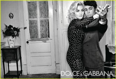 Madonna'dan yeni D&G kampanyası - 4