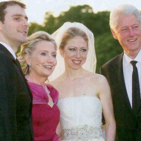 """Bill Clinton:"""" Bugün hayatımızın en gururlu ve duygusal anlarına ailemiz ve yakın dostlarımızla birlikte tanıklık ettik."""""""