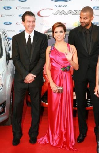 Antonio Banderas,  Tony ve Eva Longoria Parker