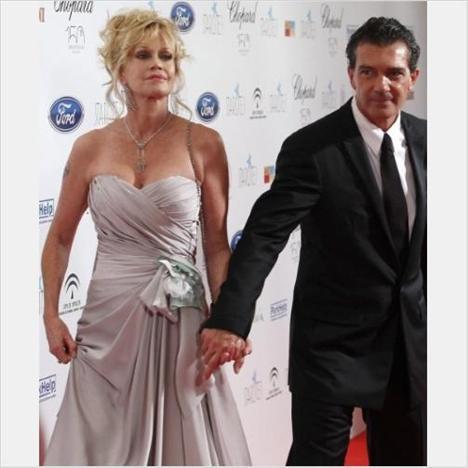 Melanie Gridith ve Antonio Banderas