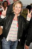 Rock-bohem stilin şık sentezi: Drew Barrymore - 27