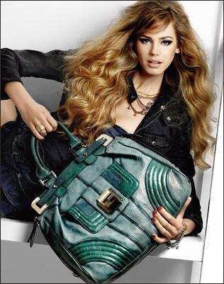 Mint yeşili kol çanta