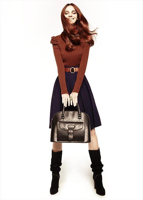 Füme kol çantası