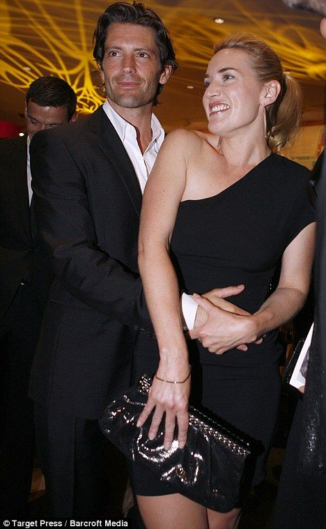 Kate Winslet ve model sevgilisi Louis Dowler