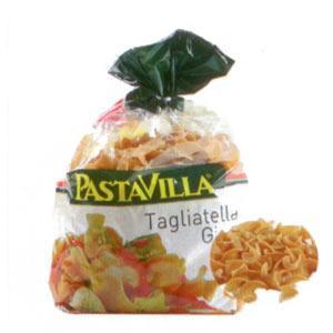 Pastavilla Tagliatella Girata (Kepekli)  Enerji 316 kcal.  Protein 12.4 gr.  Karbonhidrat 65.1 gr.  Lif 12.85 gr.  Yağ 0.65 gr.  Fiyatı: 1.05 TL. (250 gr.)