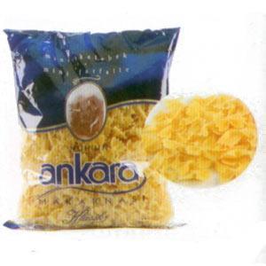 Nuh'un Ankara Makarnası Mini Kelebek Enerji 345 kcal.  Protein 10.5 gr.  Karbonhidrat 75.9 gr.  Yağ 0.3 gr.  Fiyatı: 0.85 TL. (500 gr.)