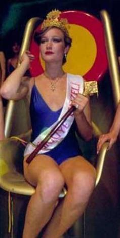 Bir balerin olan Kuruoğlu, katıldığı yarışmada önce Türkiye güzeli seçildi...