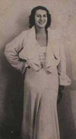 1933 Türkiye Güzeli Nazire Hanım.