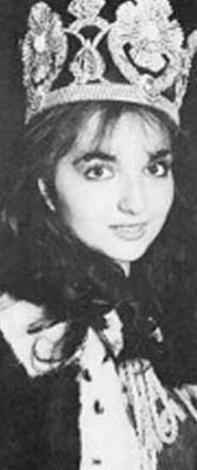 Şebnem Ünal, 1979 Türkiye güzeli seçildi.