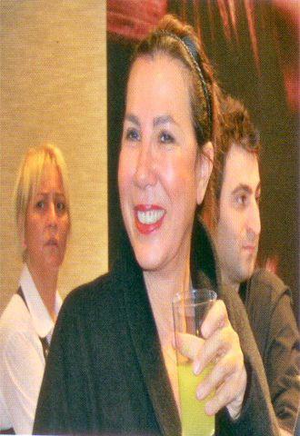 İstanbul cemiyet hayatının renkli isimlerinden  Selma Türkeş