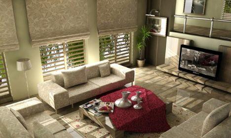 Rezidans tarzı dekorasyon detayları - 10