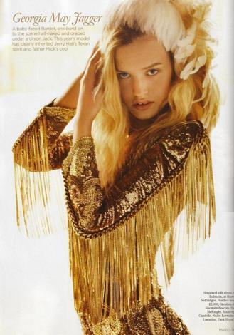 Henüz 18 yaşında ama çoktan moda dünyasının en iyileri arasına girdi.