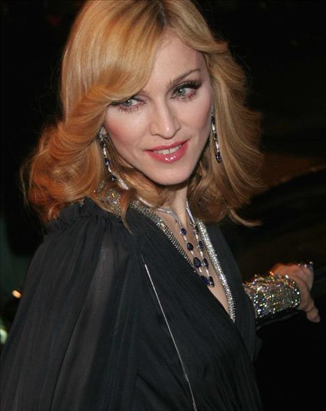 Madonna listede beşinci sırada.