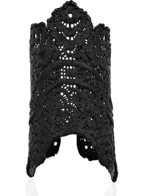 Dantel modelli siyah kelepçe