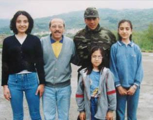 Altuğ'a aile ziyareti.