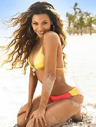 Beyonce Knowles   Zaman zaman kilo alıp veriyor ama ideal kilosu 53.