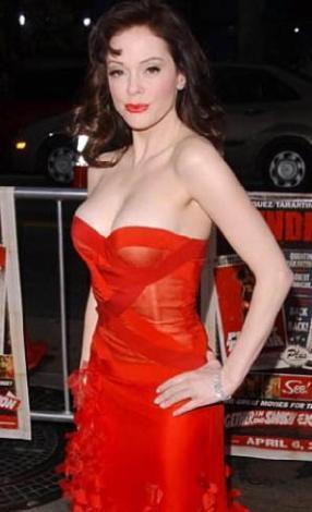 Rose McGowan  Güzel yıldız 46 kilo.