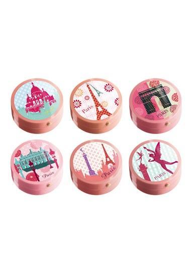 Collection de Blushs « Bourjois fête Paris », Bourjois  Buram buram Paris kokan bir allık koleksiyonu...