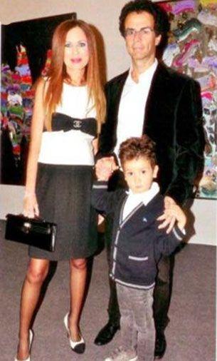 Robet Baler eşi Etel Baler ve oğlu Ralf