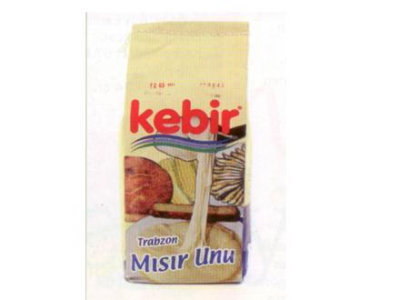Kebir Trabzon Mısır Unu Mısır unu özellikle Karadeniz mutfağına özgü bir tat. Ekmek yapımının yanı sıra kızartmalarda da kullanılabiliyor. Arpa, buğday, çavdar ve yulafın aksine glüten içermiyor.  Enerji 368 kcal. Karbonhidrat 76.90 gr. Yağ 1.8 gr. Protein 6.90 gr.