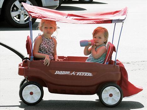 Ben Affleck ve Jennifer Garner'ın kızları.
