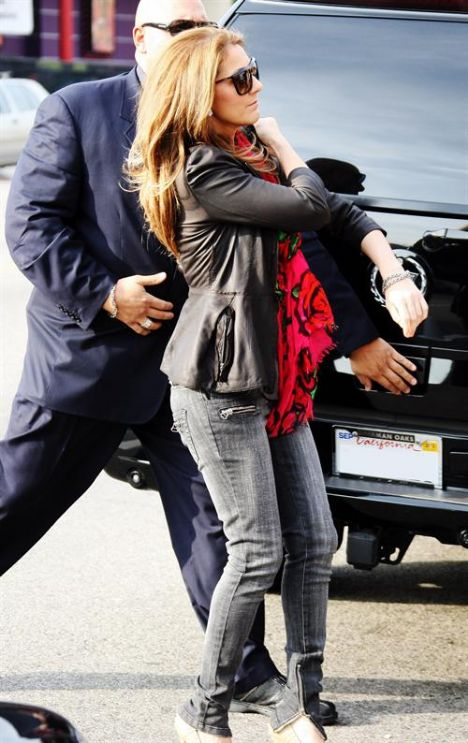 Celine Dion hamileyken