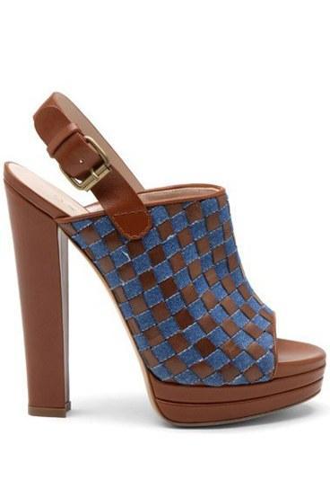 Casadei  Kahverengi şık bir ayakkabı