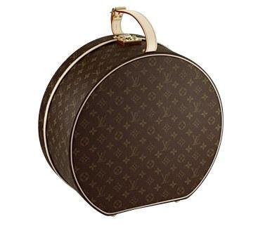 Louis Vuitton kanvas şapka çantası