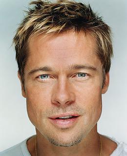 """Erkekler tarafından en beğenilen üç erkek seçildi.  Kadın hayranları tarafından defalarca """"en yakışıklı erkek"""" seçilen Hollywood'un yakışıklı oyuncusu Brad Pitt'i bu kez de erkekler """"en çok beğenilen erkek ünlü"""" ilan etti."""