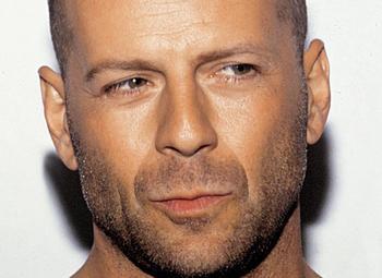 Aktör Bruce Willis üçüncü sırada yer aldı.