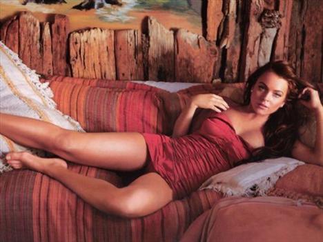 'En rüküş'lerde 8 numara Lindsay Lohan