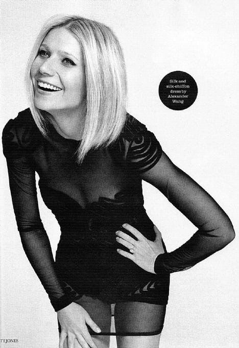 Gwyneth Paltrow Alexander Wang elbisesiyle..