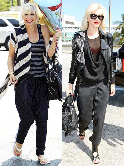 Gween Stefani Rocker anelerin en seksisi. Fark ettiniz mi bilmiyoruz ama Stefani sadece eşofman giymiş olsa bile onu stille taşıyor.