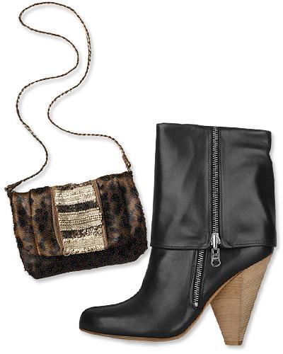 12. Antik Batik çanta ve  Belle by Sigerson Morrison topuklu bot.