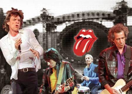 2. The Rolling Stones  İhtiyarların rekoru bir saat için 3.5 milyon pound.