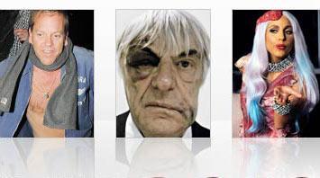 İngiltere'de yayın yapan The Sun Gazetesi ünlülerin 2010 yılında çekilen ve şaşkınlık yaratan fotoğraflarını yayınladı.