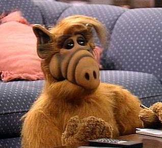 ALF' İ NE ÇOK SEVMİŞTİK   80'lerin çok izlenen dizilerinden biri de Alf'ti.