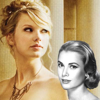 Kolay ve zarif topuzlar Taylor Swift'in yeşil elbisesi ve dağınık topuzu Grace Kelly'yi anımsatıyor ve bizden söylemesi; bu görünümün modası hiçbir zaman geçmez. Hala modern ve taze görünen bu stile bürünmek için derli toplu, mükemmel topuzlardan uzak durun. Gelişigüzel toplanıvermiş gibi görünen saçların olmazsa olmazı ise parlaklık! Taylor Swift - Grace Kelly