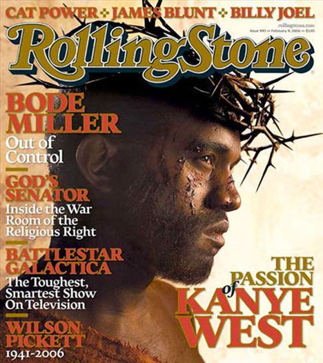 Kanye West'in bu fotoğrafını kim unutabilir?
