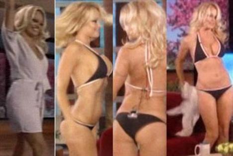 Pamela Anderson'dan en seksi pozlar... - 117