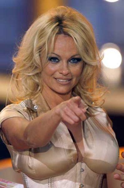 Pamela Anderson'dan en seksi pozlar... - 157