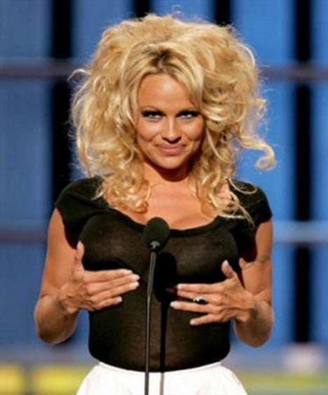 Pamela Anderson'dan en seksi pozlar... - 167