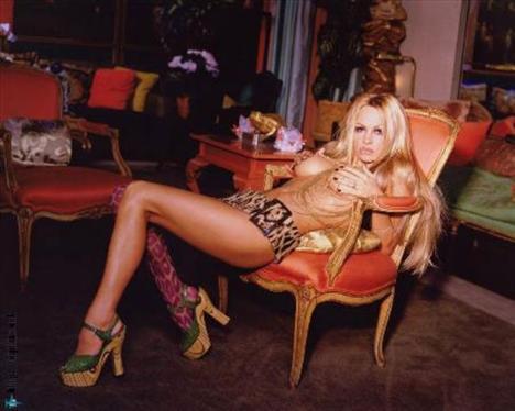 Pamela Anderson'dan en seksi pozlar... - 195