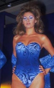 Pınar Altuğ'un acemilik yıllarından bir görüntü.