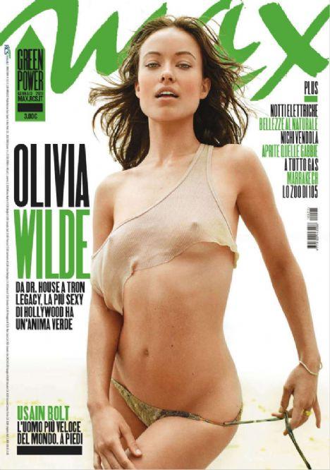 Max Magazin dergisinin Ocak sayısına cesur pozlar veren Olivia Wilde resmen yürek hoplatıyor!!