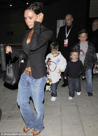 Victoria Beckham 4. çocuğuna hamile - 1