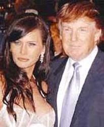 Eski eşinden boşanan Trump, kendisinden 24 yaş genç eşiyle ikinci kez dünya evine girdi.