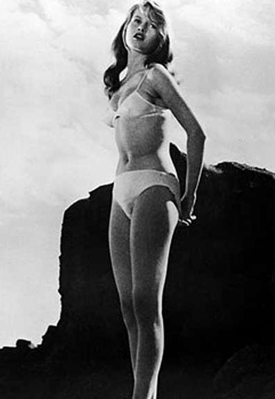 Bridget Bardot'un 1952 yılında The Girl in the bikini filminde giydiği bikini.